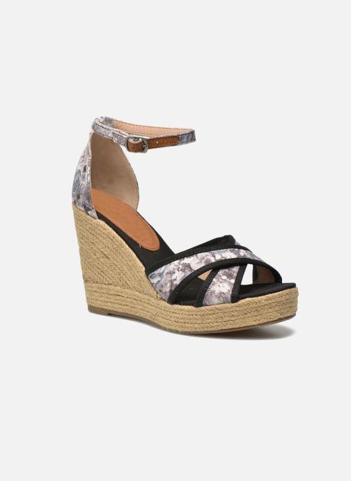 Sandales et nu-pieds Refresh Papaye 61717 Noir vue détail/paire