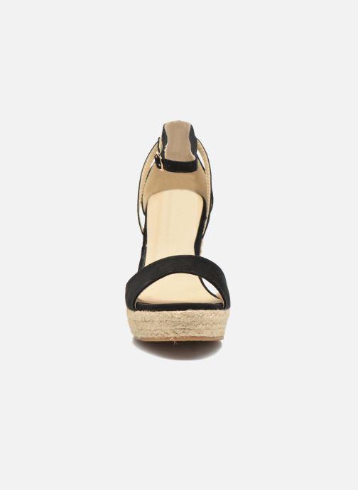 Sandales et nu-pieds Refresh Sunlight 62011 Noir vue portées chaussures