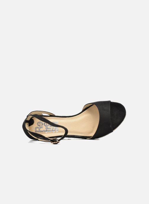 Sandales et nu-pieds Refresh Sunlight 62011 Noir vue gauche