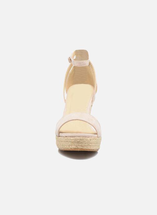 Sandales et nu-pieds Refresh Sunlight 62011 Beige vue portées chaussures