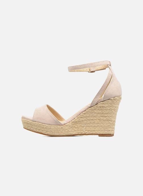 Sandales et nu-pieds Refresh Sunlight 62011 Beige vue face