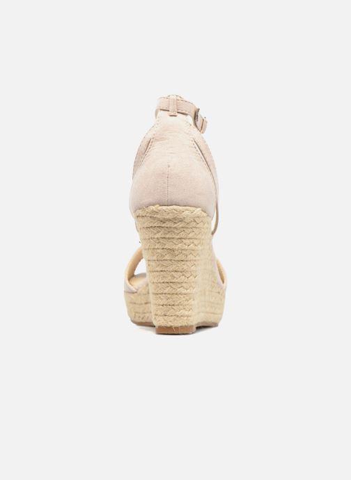 Sandales et nu-pieds Refresh Sunlight 62011 Beige vue droite