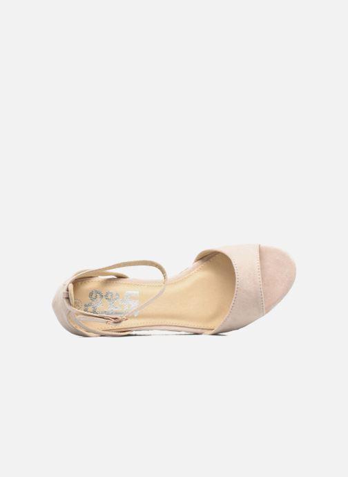 Sandales et nu-pieds Refresh Sunlight 62011 Beige vue gauche