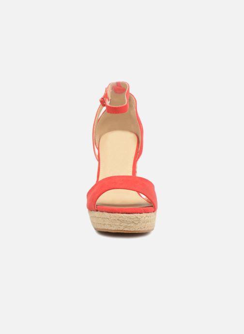 Sandales et nu-pieds Refresh Sunlight 62011 Rouge vue portées chaussures