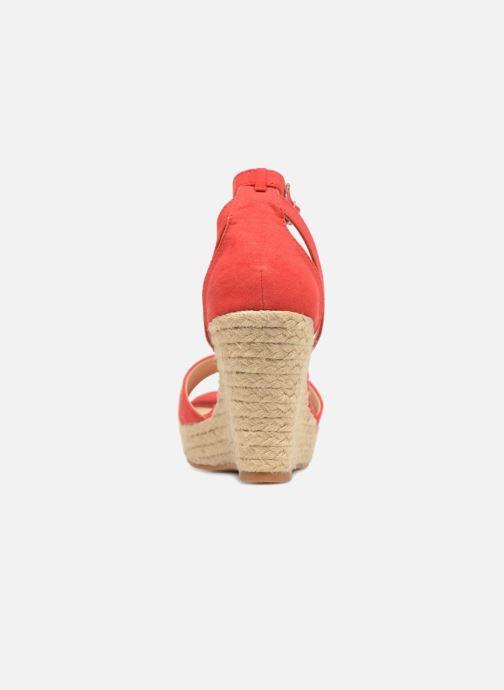 Sandales et nu-pieds Refresh Sunlight 62011 Rouge vue droite