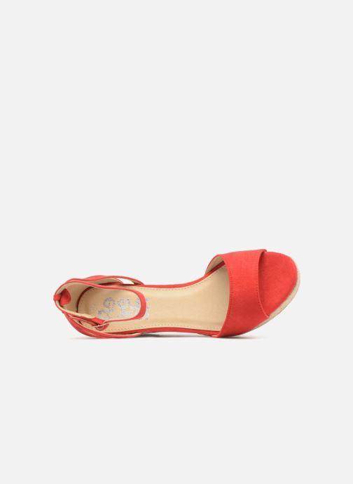 Sandales et nu-pieds Refresh Sunlight 62011 Rouge vue gauche
