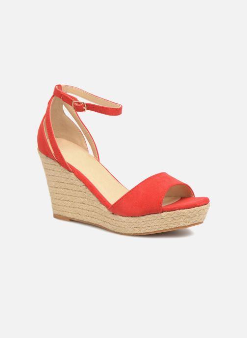 Sandales et nu-pieds Refresh Sunlight 62011 Rouge vue détail/paire