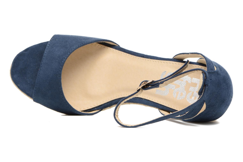Sandales et nu-pieds Refresh Sunlight 62011 Bleu vue gauche