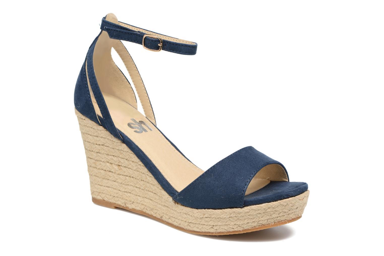 Sandales et nu-pieds Refresh Sunlight 62011 Bleu vue détail/paire