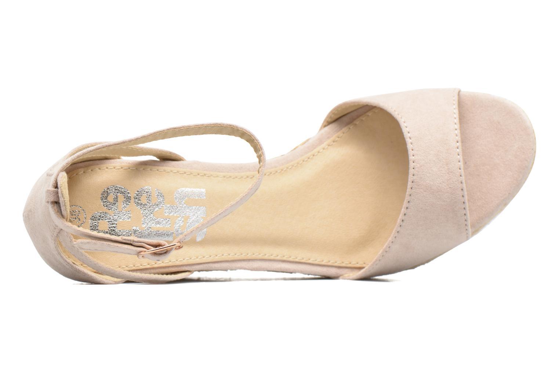 Sandali e scarpe aperte Refresh Sunlight 62011 Beige immagine sinistra