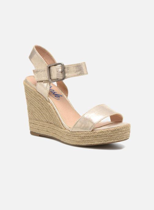 Sandales et nu-pieds Refresh Corail 61772 Or et bronze vue détail/paire