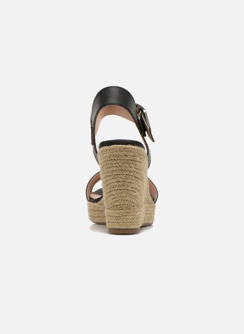 Sandalen Refresh Corail 61772 Zwart rechts