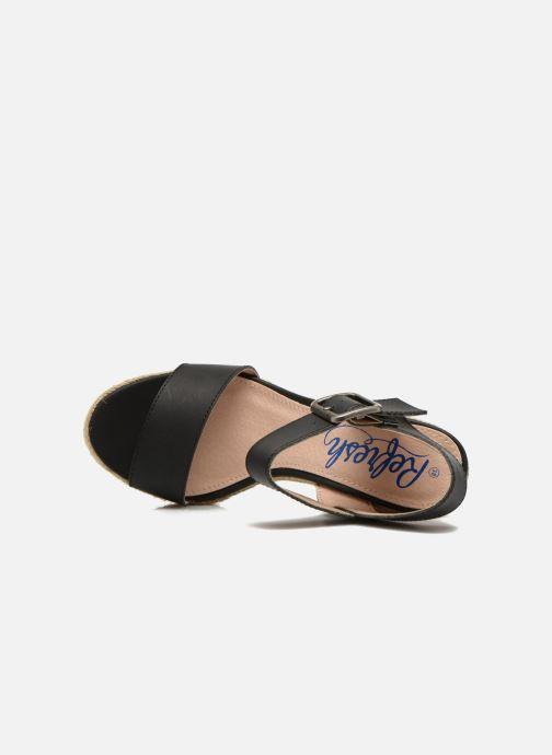 Sandalen Refresh Corail 61772 Zwart links