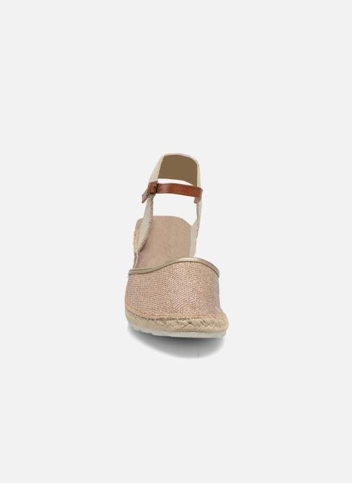 Sandales et nu-pieds Refresh Gipsy 62034 Or et bronze vue portées chaussures