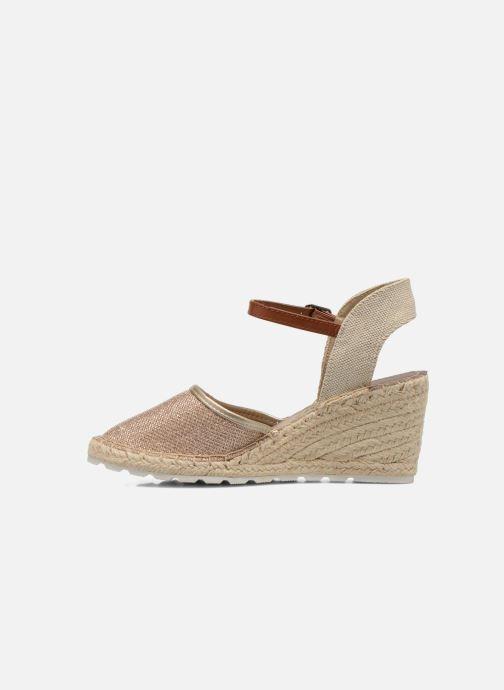 Sandales et nu-pieds Refresh Gipsy 62034 Or et bronze vue face