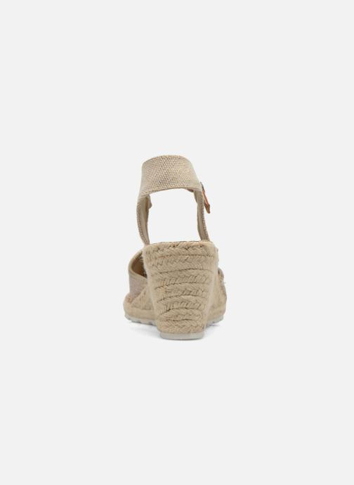 Sandales et nu-pieds Refresh Gipsy 62034 Or et bronze vue droite