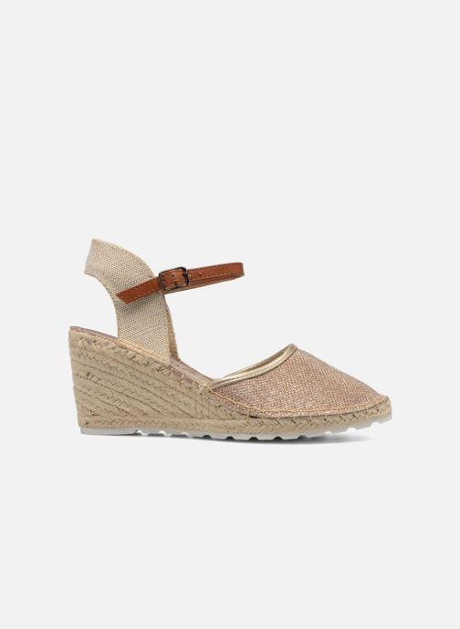 Sandales et nu-pieds Refresh Gipsy 62034 Or et bronze vue derrière