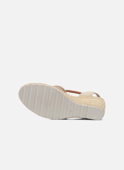 Sandales et nu-pieds Refresh Gipsy 62034 Or et bronze vue haut