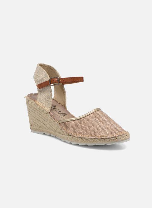Sandales et nu-pieds Refresh Gipsy 62034 Or et bronze vue détail/paire