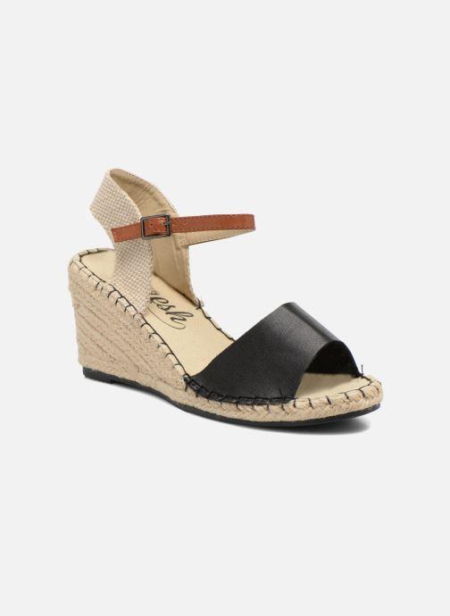 Sandales et nu-pieds Refresh Gipset 62035 Noir vue détail/paire