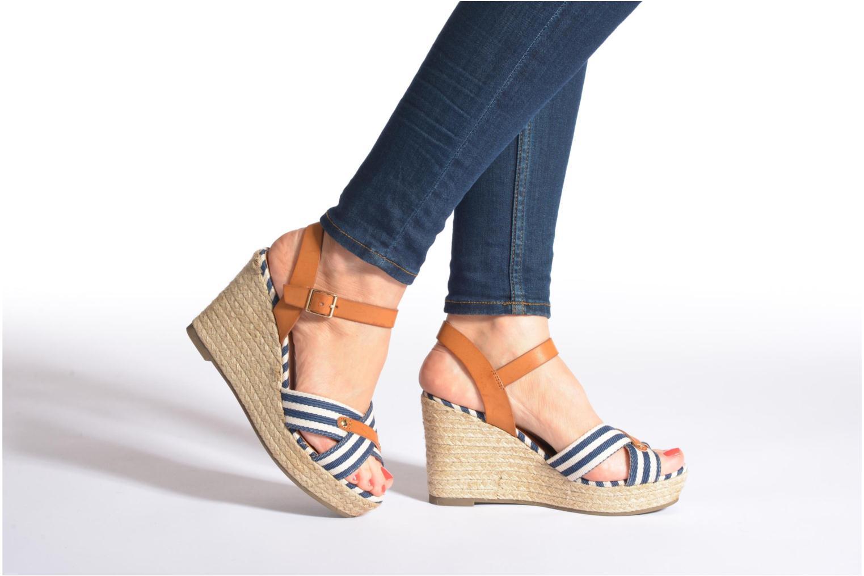 Sandales et nu-pieds Refresh Marin 62088 Bleu vue bas / vue portée sac