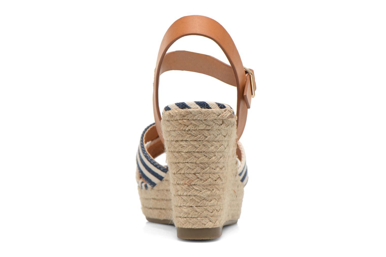 Sandales et nu-pieds Refresh Marin 62088 Bleu vue droite