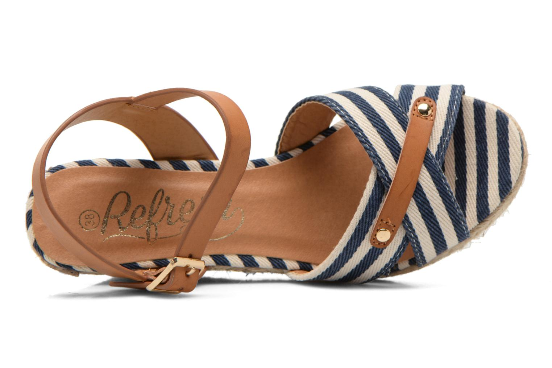 Sandales et nu-pieds Refresh Marin 62088 Bleu vue gauche