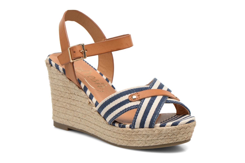 Sandales et nu-pieds Refresh Marin 62088 Bleu vue détail/paire