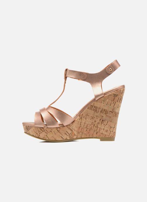 Sandales et nu-pieds Refresh Jungle 61823 Or et bronze vue face