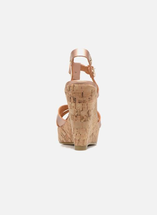 Sandales et nu-pieds Refresh Jungle 61823 Or et bronze vue droite