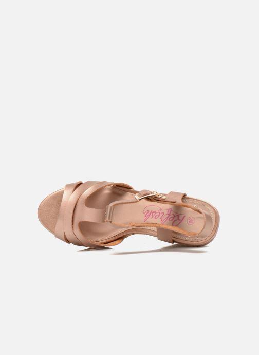 Sandales et nu-pieds Refresh Jungle 61823 Or et bronze vue gauche