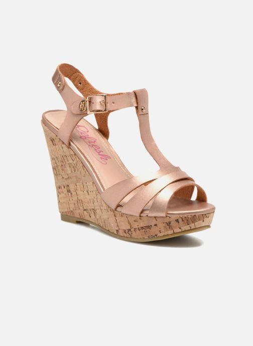 Sandales et nu-pieds Refresh Jungle 61823 Or et bronze vue détail/paire