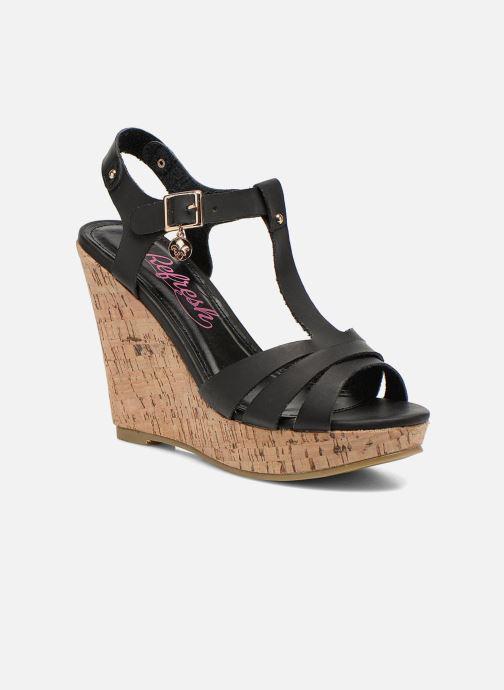 Sandales et nu-pieds Refresh Jungle 61823 Noir vue détail/paire