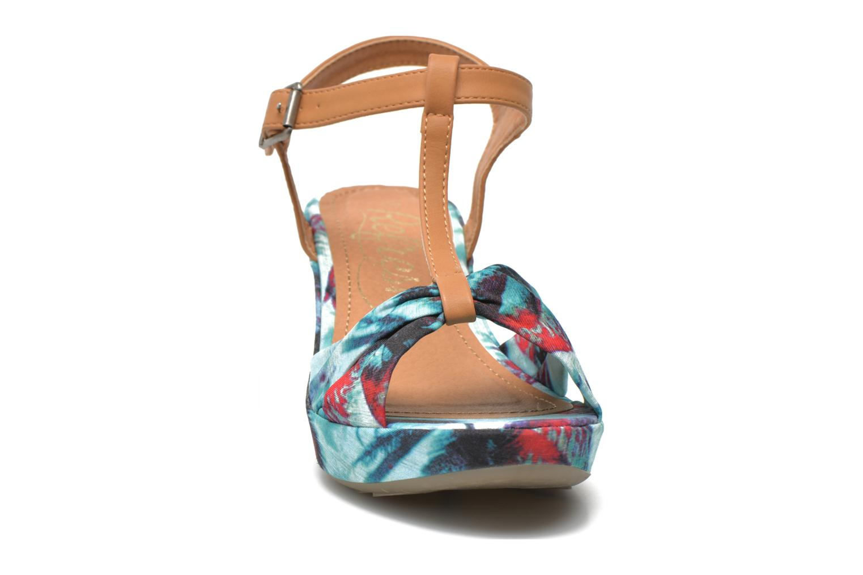 Sandali e scarpe aperte Refresh Blue Moon 62085 Multicolore modello indossato