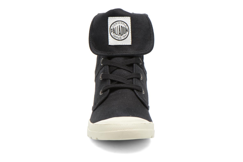 Baskets Palladium Pallaroute CVS Noir vue portées chaussures