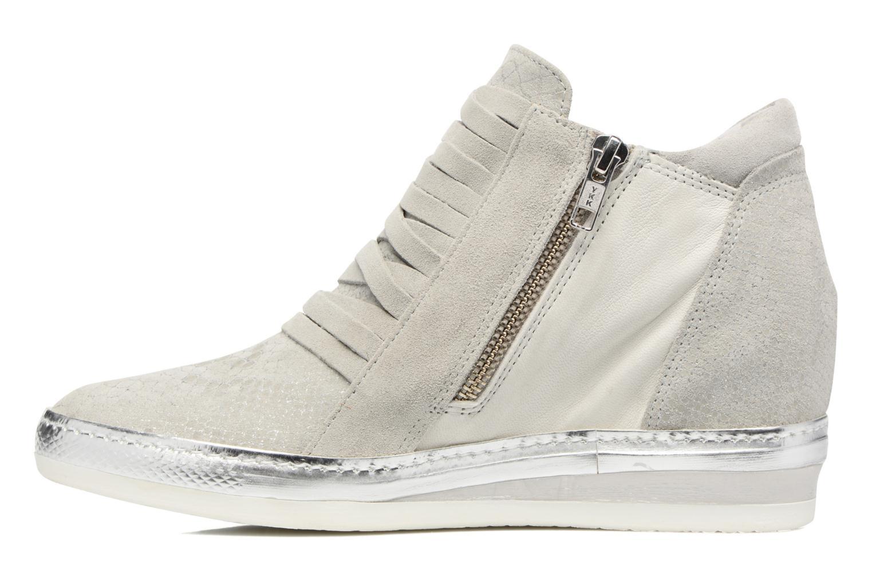 Sneakers Khrio Fucio Zilver voorkant