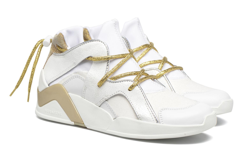 Sneakers Serafini Detroit Wit 3/4'