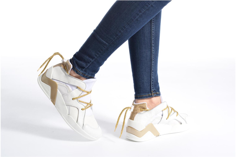 Sneakers Serafini Detroit Wit onder