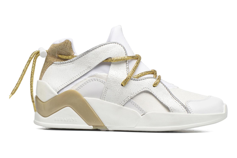 Sneakers Serafini Detroit Wit achterkant