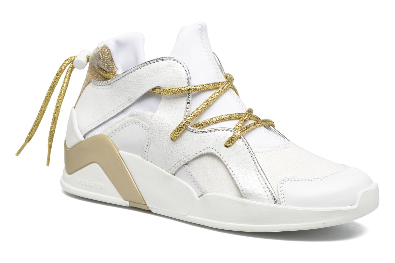Sneakers Serafini Detroit Wit detail