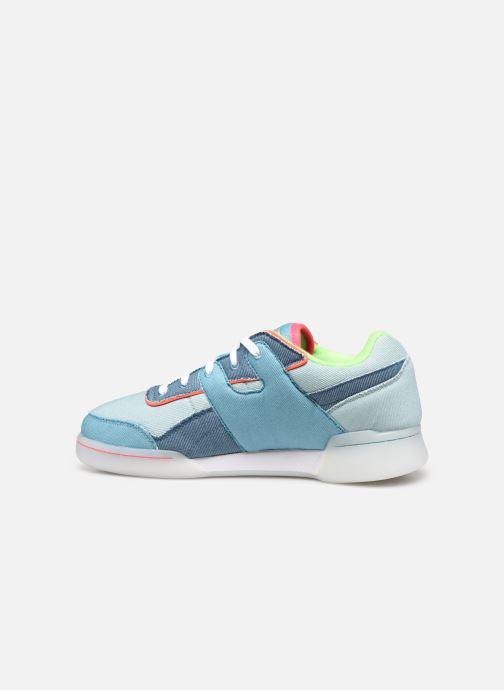 Sneaker Reebok Workout Plus W blau ansicht von vorne