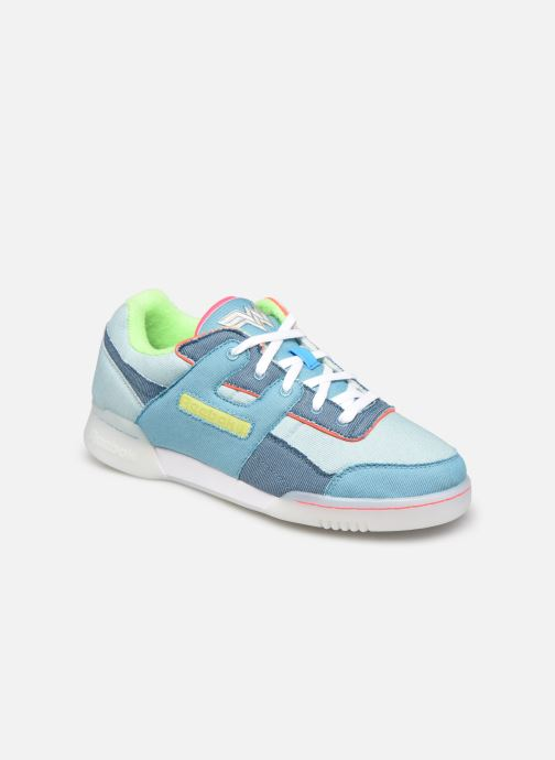 Sneaker Reebok Workout Plus W blau detaillierte ansicht/modell