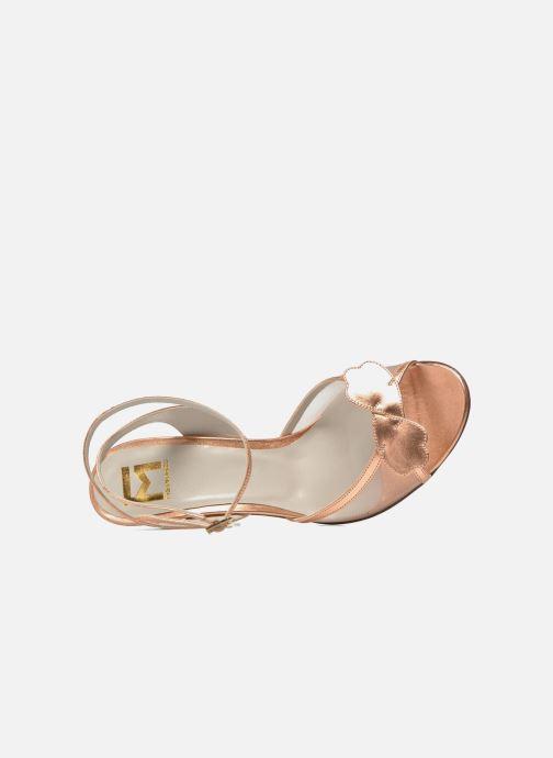 Sandales et nu-pieds Fred Marzo Marguerite Multicolore vue gauche