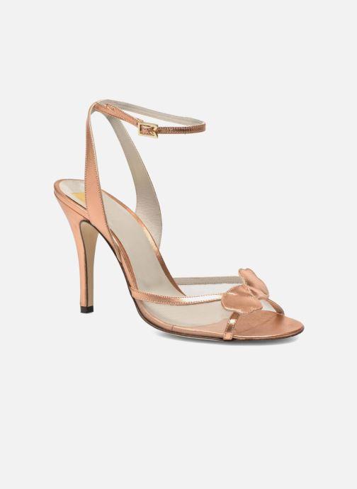Sandales et nu-pieds Fred Marzo Marguerite Multicolore vue détail/paire