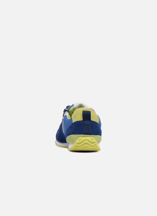 Baskets P-L-D-M By Palladium Fabeo Nyl Bleu vue droite