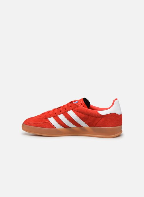 Baskets adidas originals Gazelle Indoor Rouge vue face