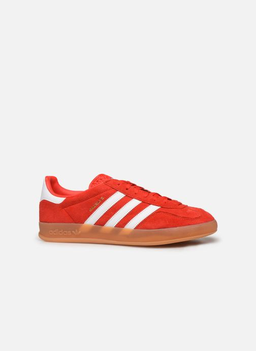 Baskets adidas originals Gazelle Indoor Rouge vue derrière