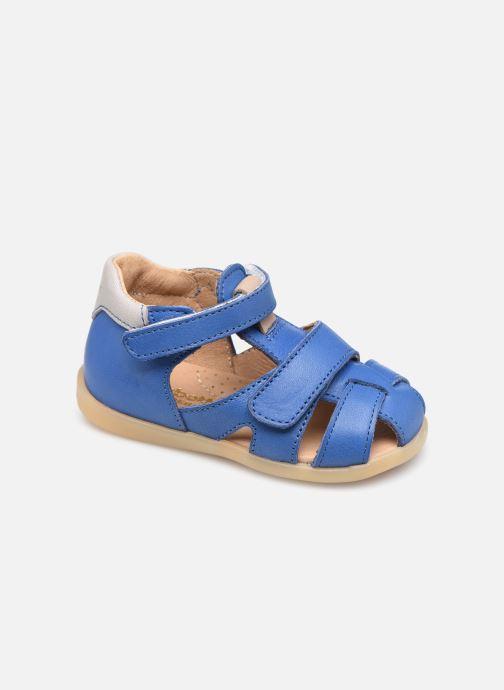 Sandalen Babybotte Geo Blauw detail