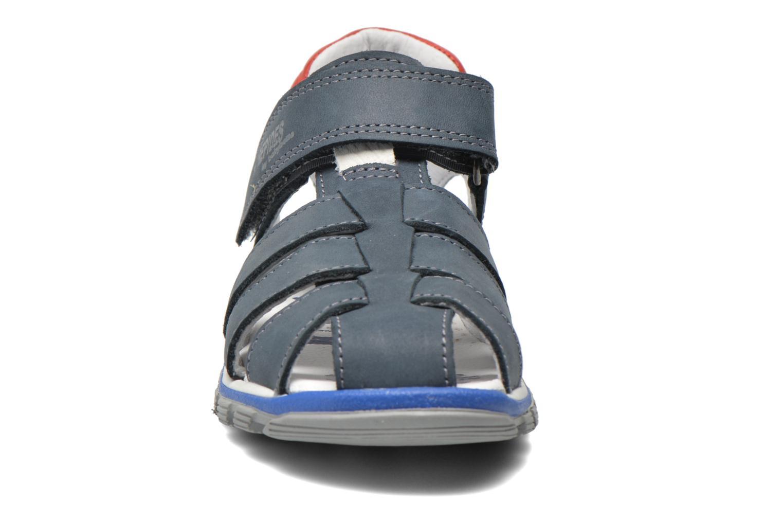 Sandales et nu-pieds Babybotte Kargo Bleu vue portées chaussures