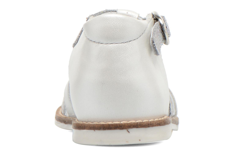 Sandales et nu-pieds Babybotte Toucan1 Argent vue droite